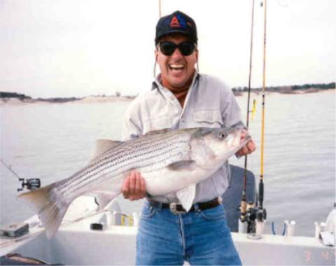 Fish oklahoma for Skiatook lake fishing report